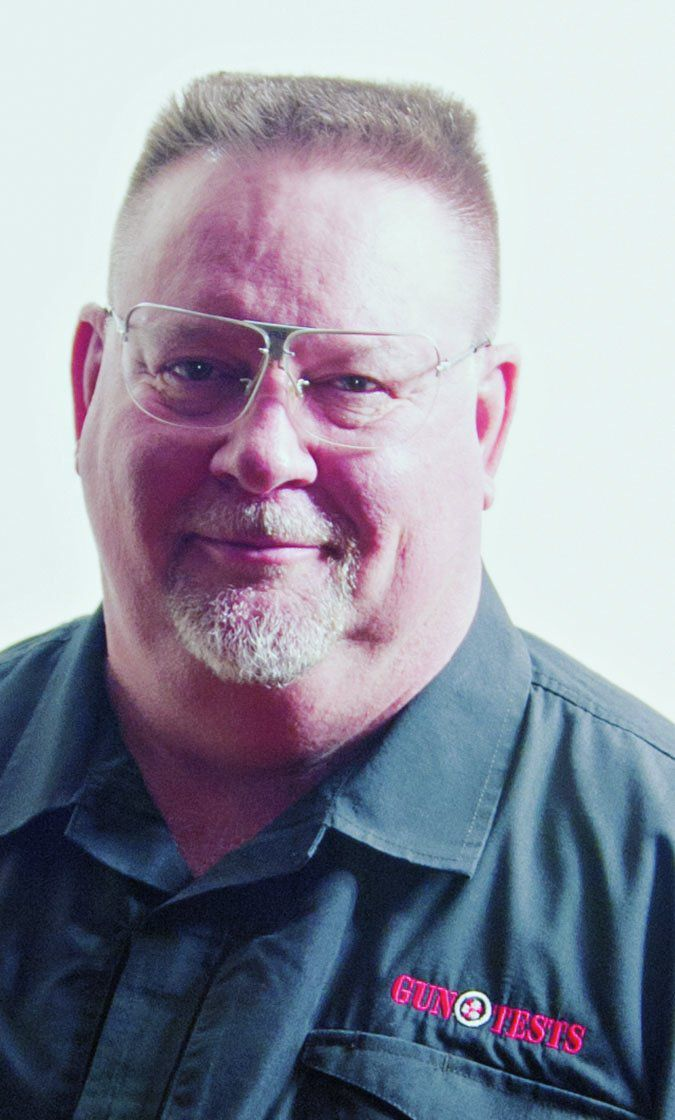 Gun Tests editor Todd Woodard