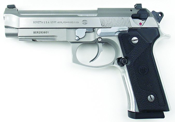 Beretta Model 96 Vertec Inox 40 S&W