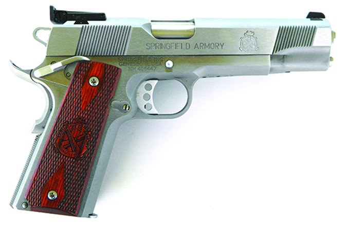 Springfield PI9132LP Loaded Target 45 ACP