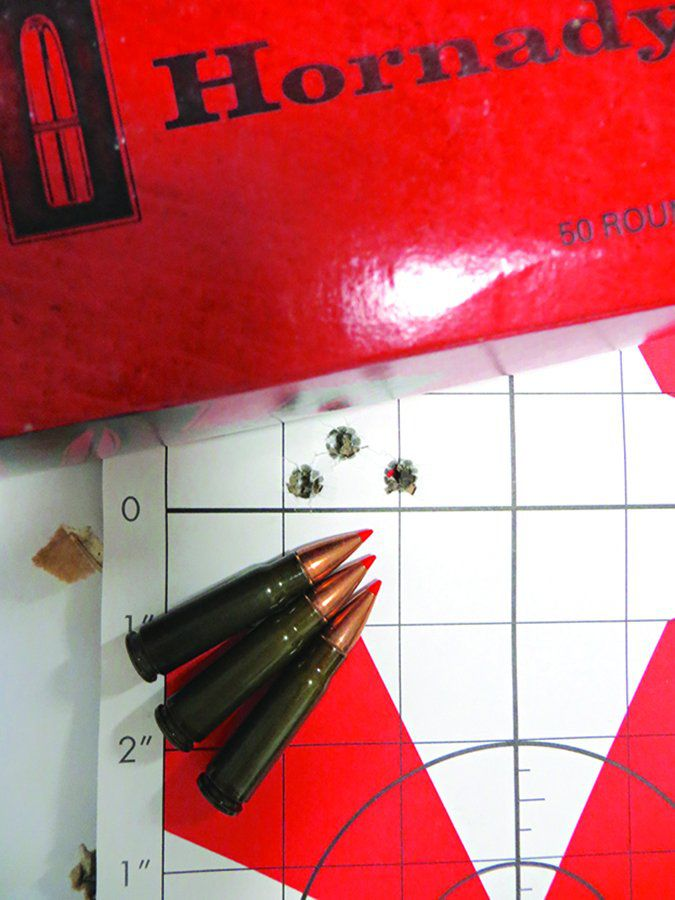 Hornady Steel Match ammo