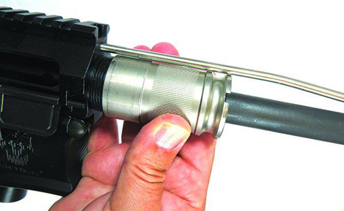 DRD Tactical CDR-15 5.56mm NATO barrel nut