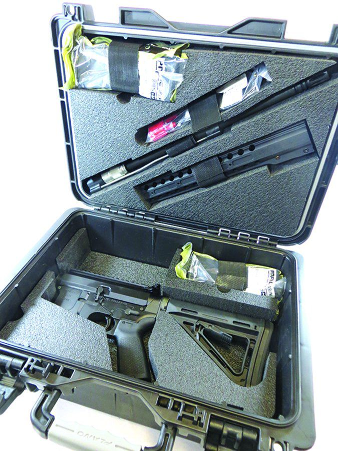 DRD Tactical CDR-15 5.56mm NATO carrying case