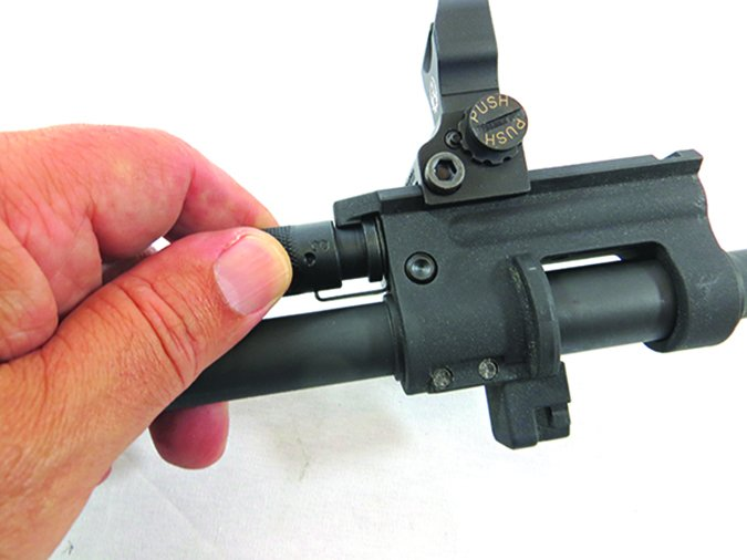 Ruger SR-556 Takedown 5924 5.56mm NATO gas valve