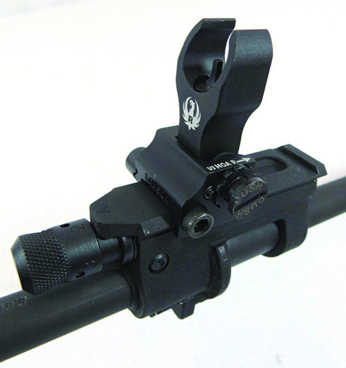 Ruger SR-556 Takedown 5924 5.56mm NATO front sight