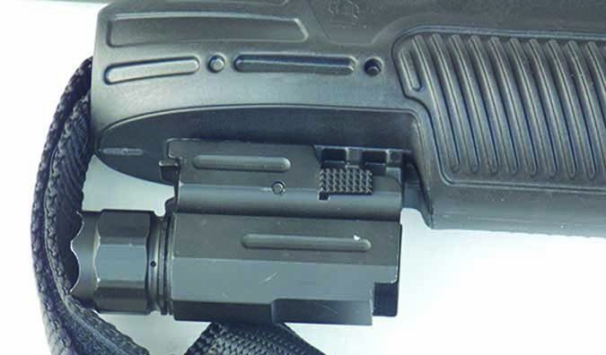 $233; and the Remington 870 Police Shotgun Modified with Adaptive Tactical Forend and M4 Type Stock