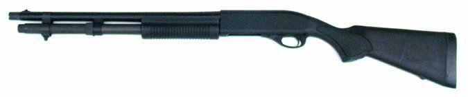 Remington 870 Modified Police Model combat light