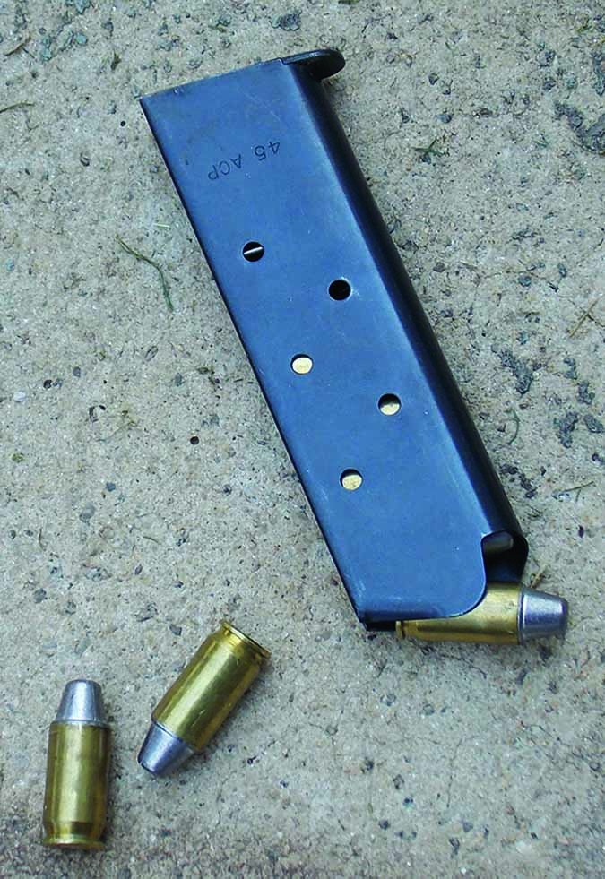 pistol magazine loaded