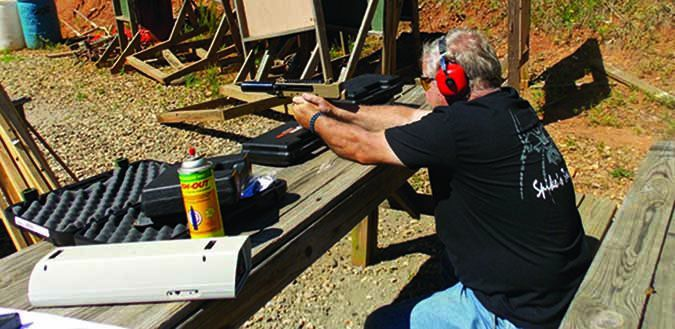 IWI Mini Uzi Pro UPP9S 9mm Luger bullet pattern