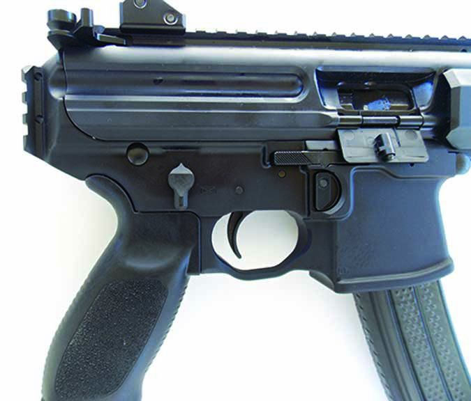 MasterPiece Arms Defender Pistol MPA30DMG 9mm Luger safety