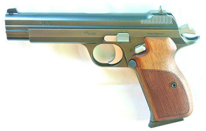 SIG Sauer P210 Legend 210-9-Legend 9x19mm Luger