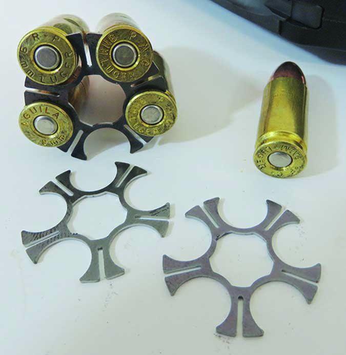 Ruger LCR Model 5456 9mm Luger moon clips