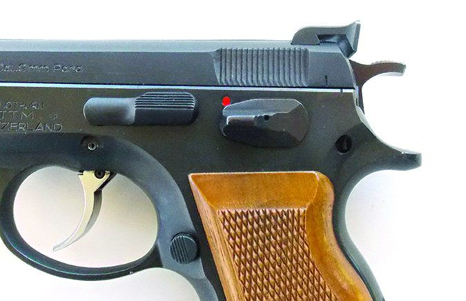 CZ 75 B Matte Stainless 91128 9mm Luger
