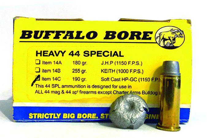 Buffalo Bore 190-grain SWCHP