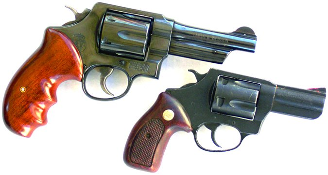Smith & Wesson Model 21-4 44 Special and Charter Arms Bulldog
