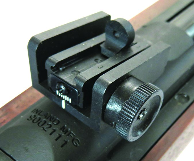 Inland Manufacturing m1 carbine rear sight