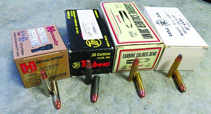 m1 carbine test ammunition
