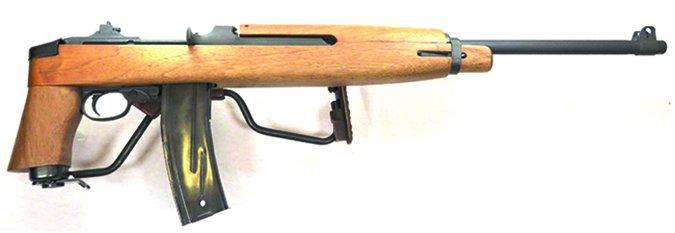 Auto-Ordnance M1 Carbine Paratrooper Model AOM150 30 Carbine stock folded