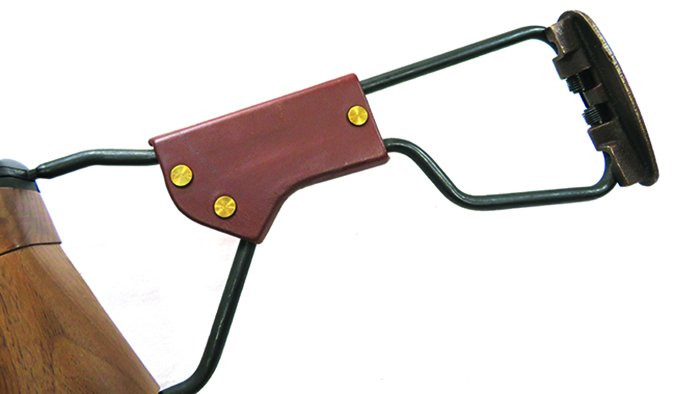 Auto-Ordnance M1 Carbine Paratrooper Model AOM150 30 Carbine cheek piece