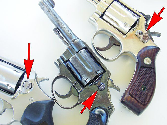 opening 38 special revolvers