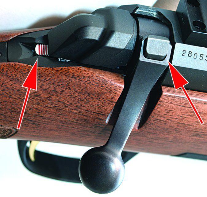 Browning X-Bolt Micro Midas No. 035346209 22-250 Remington tang mounted safety