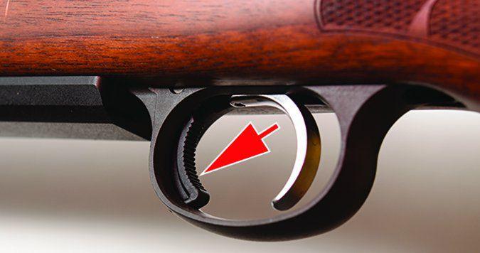 CZ USA 557 Sporter Short Action No. 04806 243 Winchester magazine release