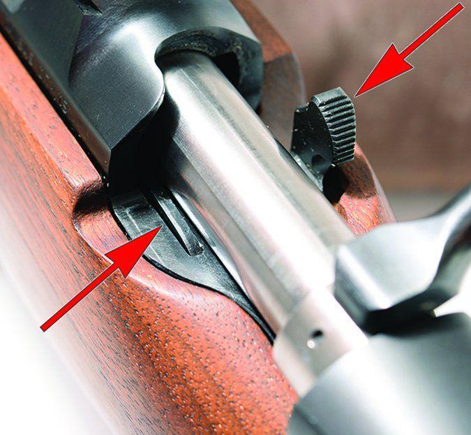 CZ USA 557 Sporter Short Action No. 04806 243 Winchester bolt release
