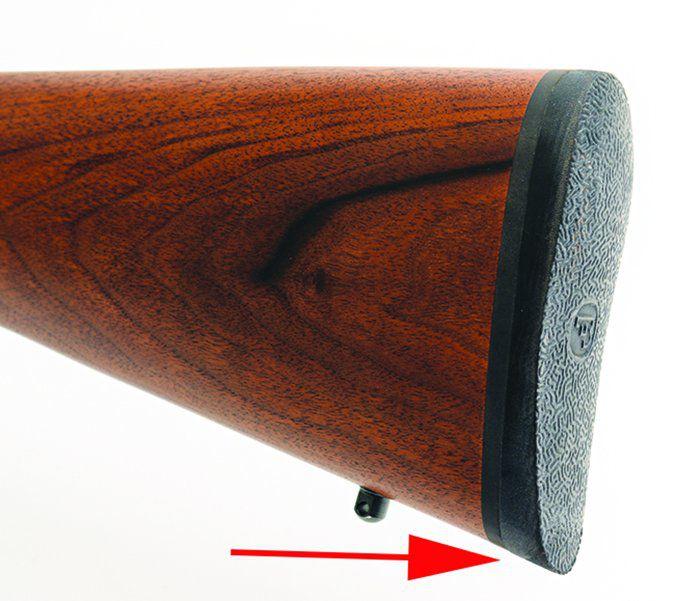 CZ USA 557 Sporter Short Action buttpad