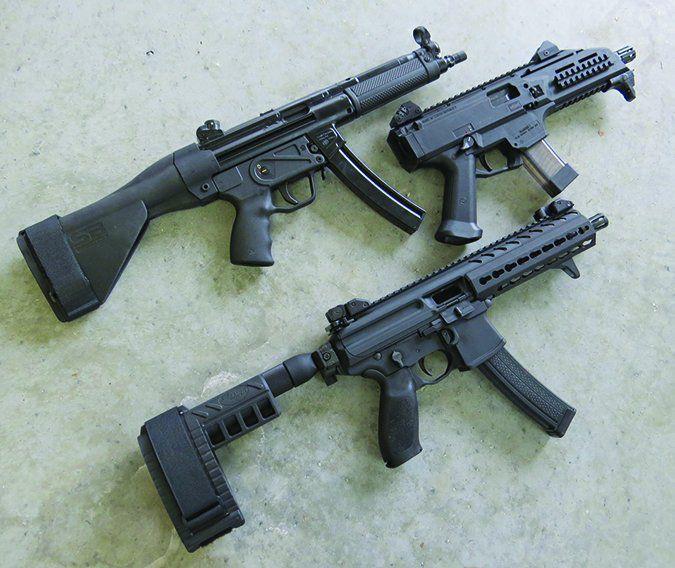 Zenith Firearms MKE Z-5RS with SB Brace (top)