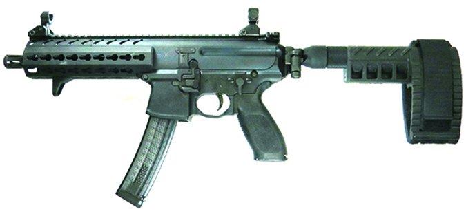 Zenith Firearms MKE Z-5RS w/SB Brace