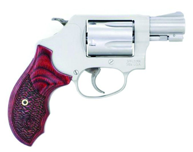 Smith & Wesson Model 637 38 Sp. +P 170349