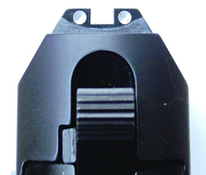 AREX REX Zero 1 CP 9mm Luger sight