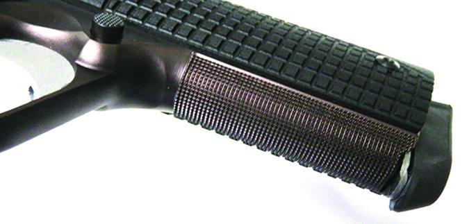 Dan Wesson Bruin Bronze 1881 10mm AUTO grip