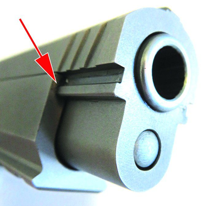 EAA Tanfoglio Witness 10mm AUTO muzzle