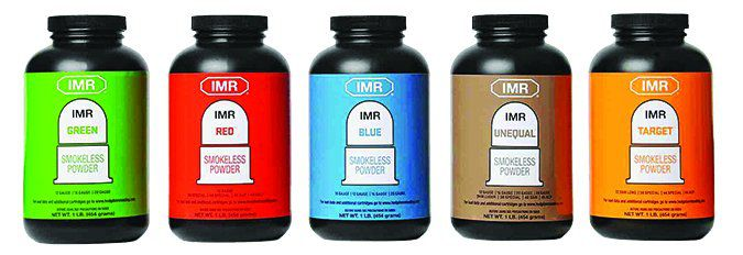 IMR Target powders