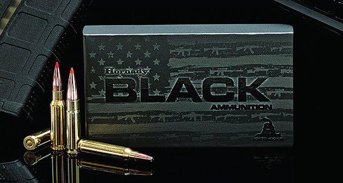 hornady black ammunition