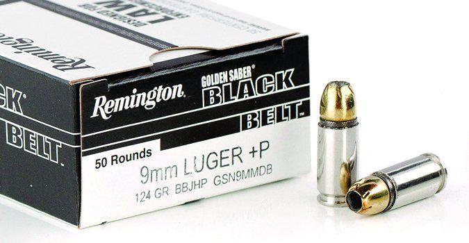 remington Golden Saber Black Belt