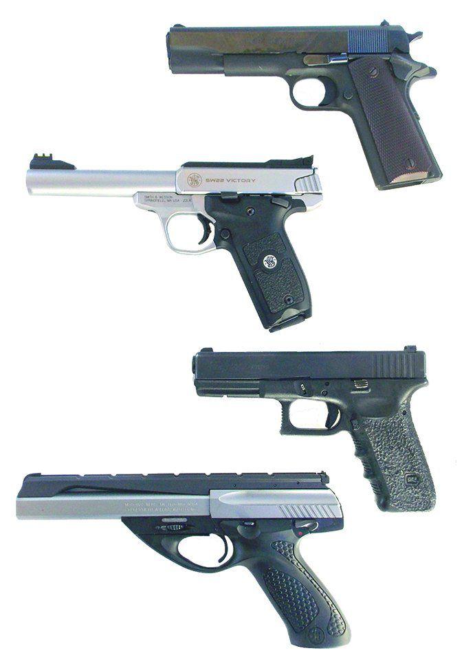 22-Caliber Handguns