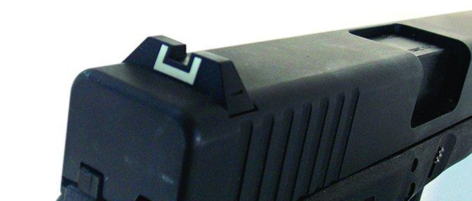 Tactical Solutions Glock 22 conversion 22 LR rear sight