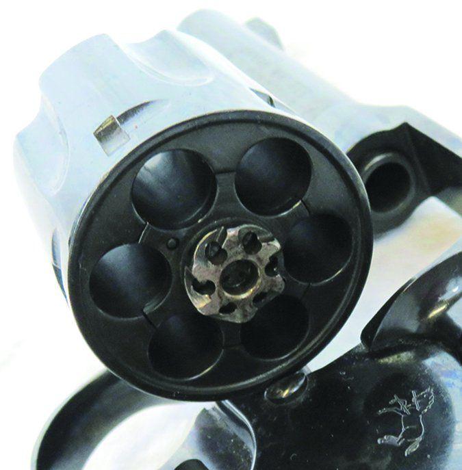 Colt Lawman Mk III 357 Magnum cylinder