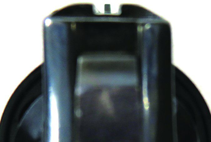 Colt Lawman Mk III 357 Magnum sight