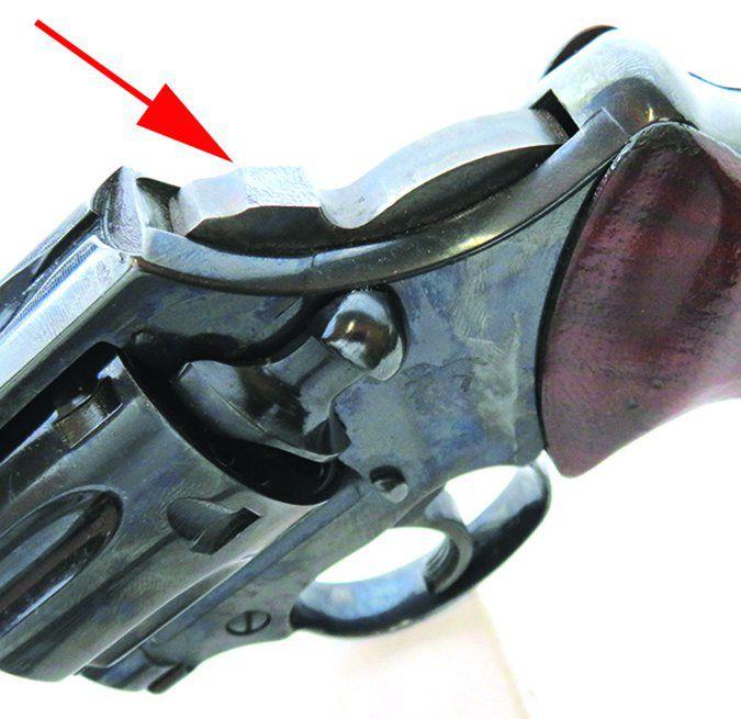 Colt Lawman Mk III 357 Magnum bobbed hammer
