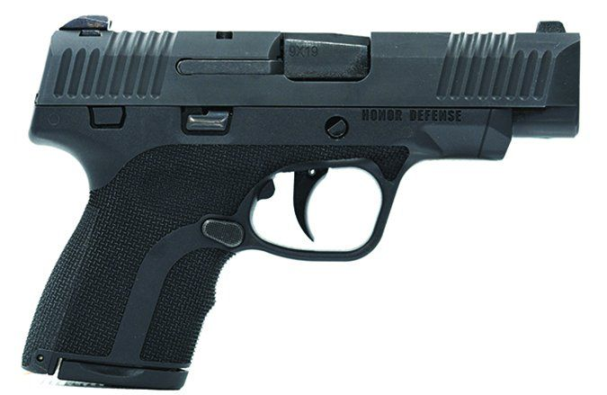 Honor Defense Honor Guard Sub-Compact HG9CLE 9mm Luger