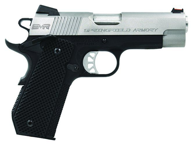 Springfield Armory 1911 EMP Conceal Carry Contour PI9229L 9mm Luger
