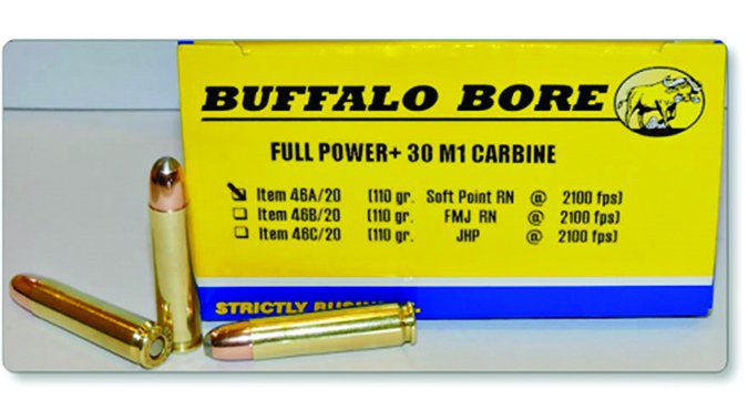 Buffalo Bore Full Power 110-Grain Soft Point Round Nose 46A/20