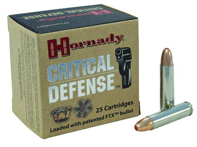 Hornady Critical Defense 110-Grain FTX 81030
