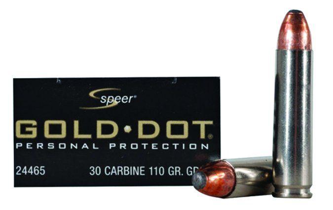 Speer Gold Dot 110-Grain Gold Dot Soft Point 24465