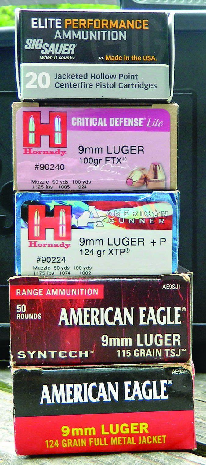 9mm test ammunition