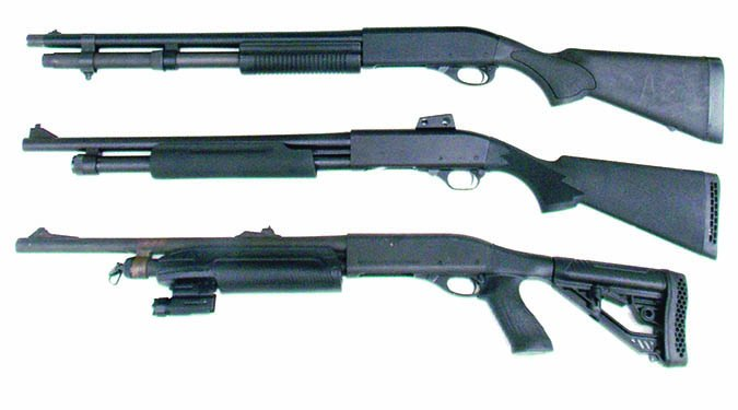 870 pump action shotguns