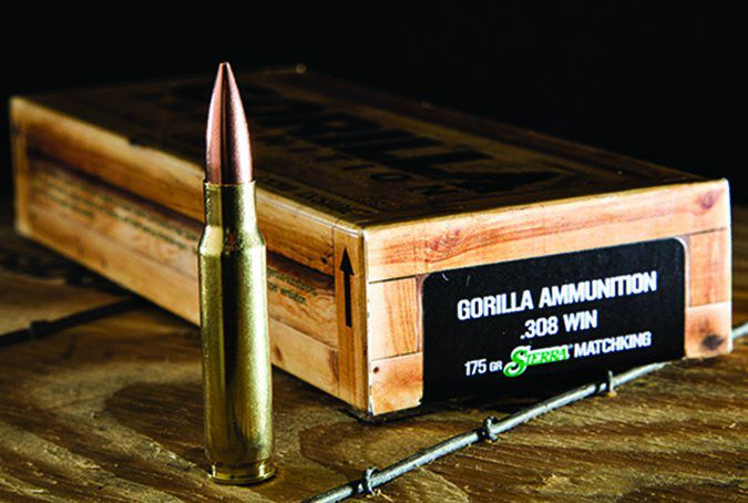 Gorilla Ammunition 175-grain Sierra MatchKing GA308175SMK
