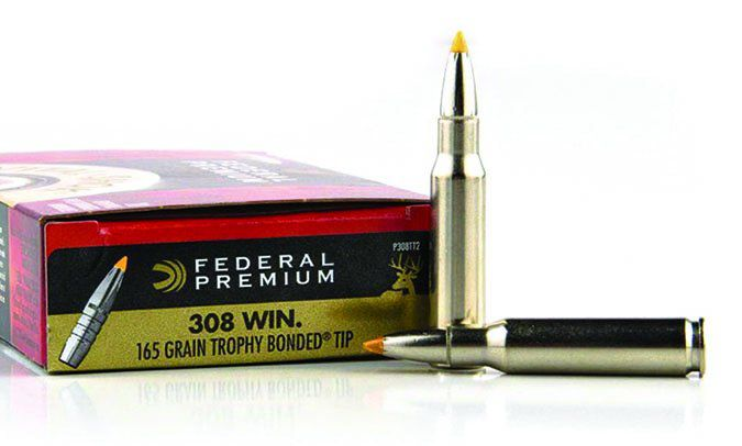 Federal 165-grain Polymer Tip Trophy Bonded P308TT2
